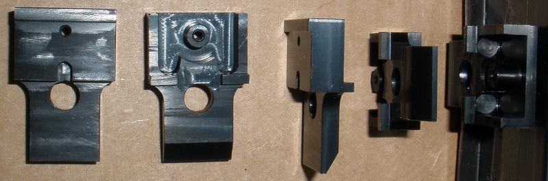 Datum Precision CNC metal box that accepts Kadee Centersets