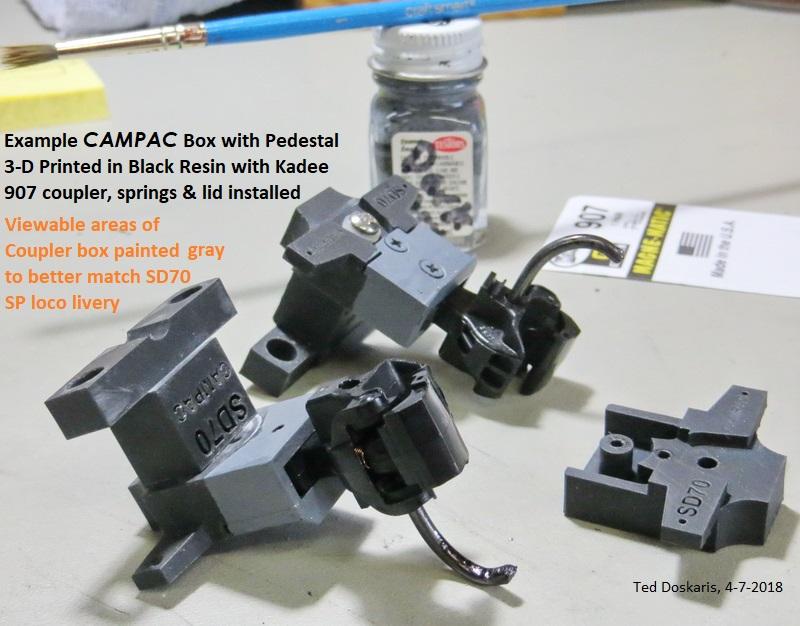 3-D Printed CamPac Box